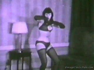 Vintage erotisch dancer