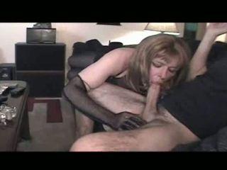 오럴 섹스, crossdresser를, 란제리