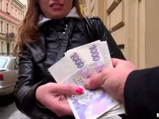 Superb eurobabe irina analyzed voor geld