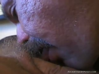 Flat Titty Sexy Blonde Fucked in Hairy Snatch