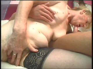 Mature Hairy Woman Fucks 2 - with Nice Long Pussy.