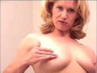 milfs, masturbācija, amatieris