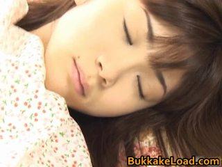 Asuka ohzora hawt aziāti modele acquires sekss cream