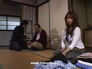 japanse, echtgenoot, interacial