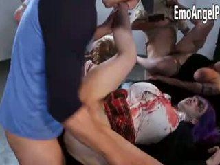 Survivors capture female zombies for sikiş