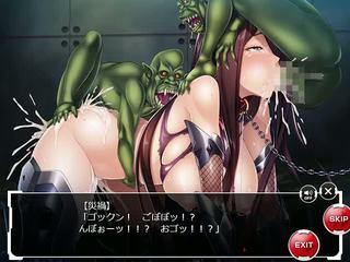 Kessen arena fuuma saika gangbanged por 3 goblins: porno 61