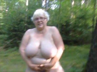 bbw, slut, granny