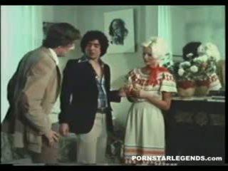 Seka 性交 在 threeway 由 john holmes 和 朋友