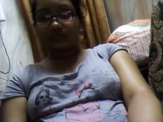 Bangla desi dhaka flicka sumia på webkamera