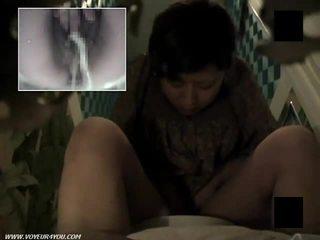 Hairy Pussy Toilet Masturbation