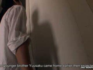Manis alice mizuno gets tertangkap oleh dia step-brother sementara