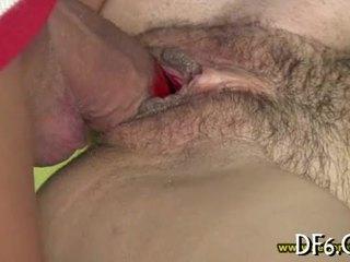 Virgin shows her hymen