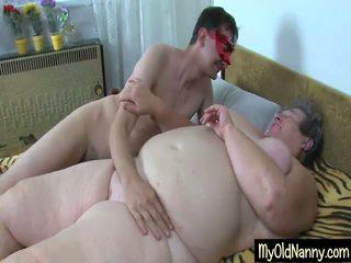 Otäck mormor gets an orgia