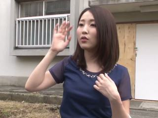 bruneta, japonec, vaginální masturbace