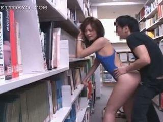 Knjižnica hardcore fukanje s vroče azijke tramp v