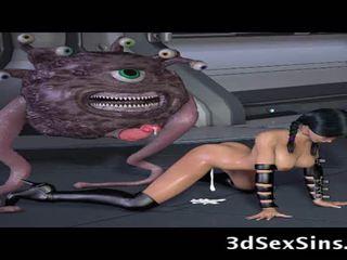 Ogres en aliens neuken 3d elf meisjes!