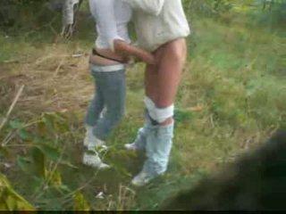 outdoor sex, outdoor, jeans