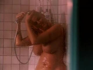 Anna Nicole Smith in the shower