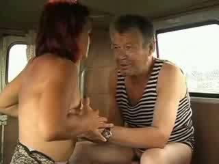 Big Titty Redhead doll sucks homeless sticking man shaft