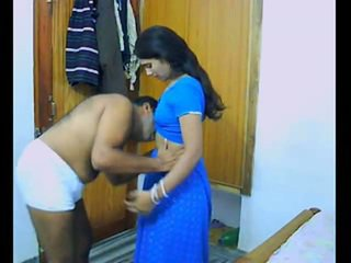 Indický pair onto jejich honeymoon chewing a bonking