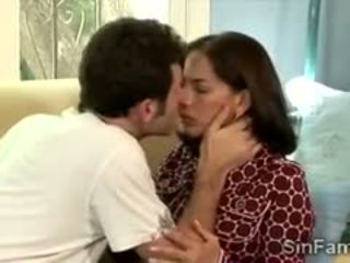 Horny Guy Makes Stepmother Moan Like A Filthy Slut