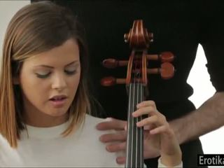 Keisha Grey needs cello lessons but gets lessons in sex instead