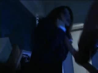 Babe sexy aziatisch meisje is betrapt door geil tentacles in kantoor