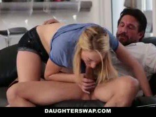 Daughterswap- daughters spille poker og faen pappaer