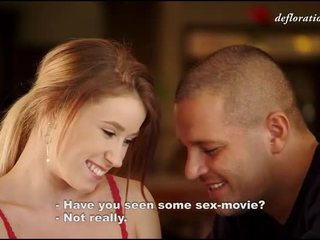 第一次, 色情影片, 勉強法律美眉