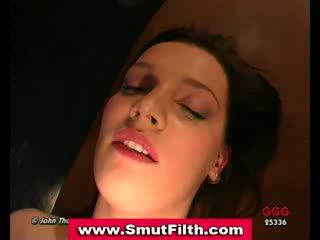 Bukkake german slut fuck and cum facial