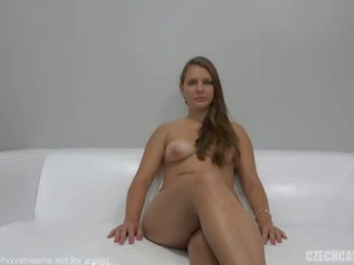 Czech Amateur Lucie Fucks on Casting