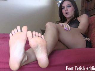 feticismo del piede, femdom, hd porno