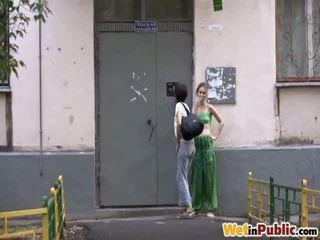 publisks sekss, pissing, peed par