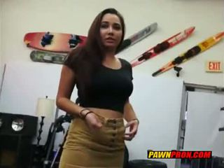 Brunette Having Sex With Pawn Owner