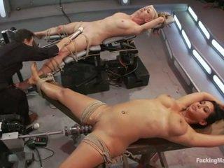 hardcore sex, hračky, kurva stroj