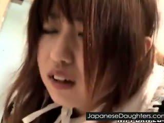 युवा, जापानी, हस्तमैथुन करना
