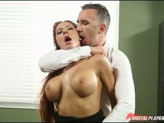 ngực lớn, văn phòng, hardcore