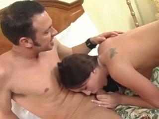 Дребен bianca pureheart eats jack spades голям meat pole