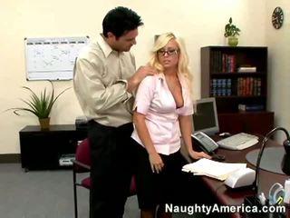 blondes, boss, office