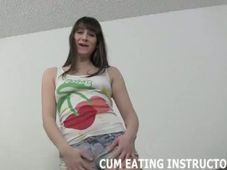You have to eat your own cum if you want to fuck me CEI