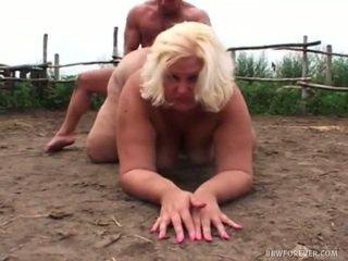 Obscene Overweight Screwing In Pig Field