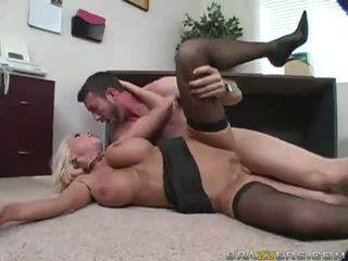 Blonde Gets Pussy Fucked Hard