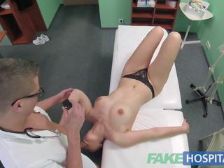 Fake Hospital Czech Babe Has Multiple Orgasms While.