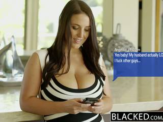 Blacked 大 自然 奶 澳大利亚的 孩儿 angela 白 fucks bbc