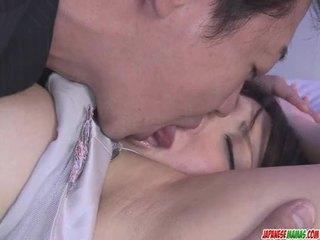 japonês, oriental, masturbação