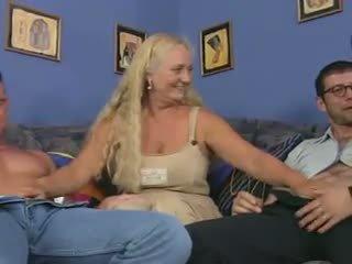 cumshots, sex în grup, grannies