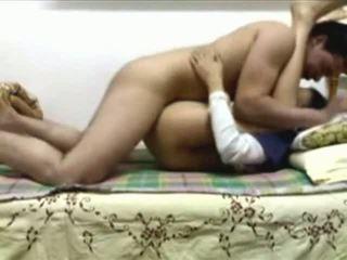 مصرية زوجان ديك بعض جنس