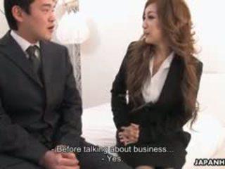 辦公室 女士 aiko nagai 在 一 淫 三人行