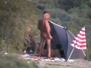 sex, orgy, camping