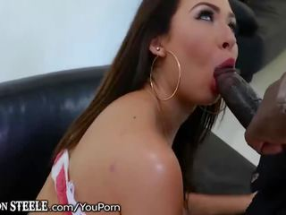 melissa moore takes 11 inch bbc!